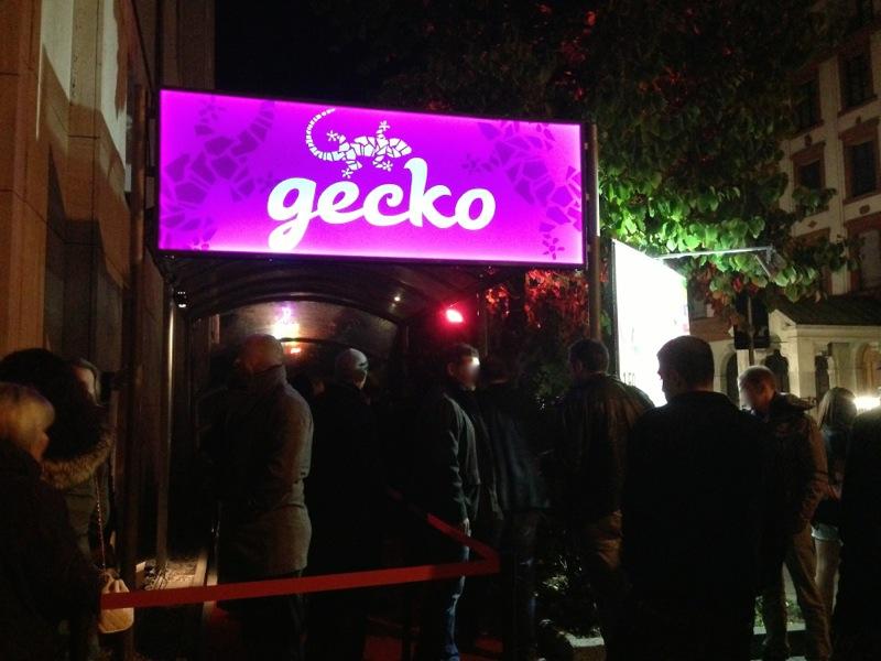 Gecko Club Eingang