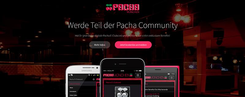 Pacha E-Clubcard – Jetzt kostenlos erhältlich