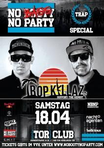Tropkillaz bei No Booty No Party