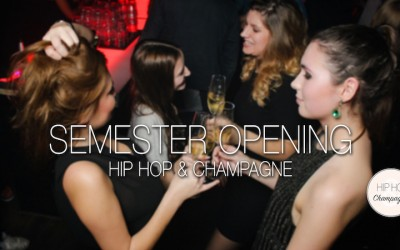 HIP HOP & CHAMPAGNE am 14. April im kiddo