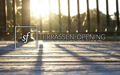 secret & free Terrassen Opening am 20. Mai